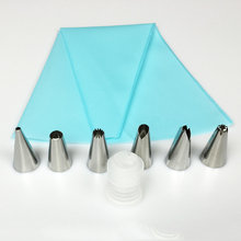 Silicone kitchen accessories, icing piping cream pastry bag.