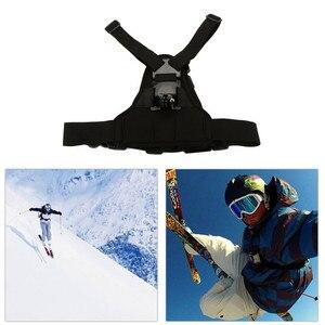 Image 3 - Version mise à jour réglable élastique corps harnais poitrine sangle de montage ceinture pour Gopro Hero 7/6/5/4/3/3 +/2/1 SJCAM Sport caméra