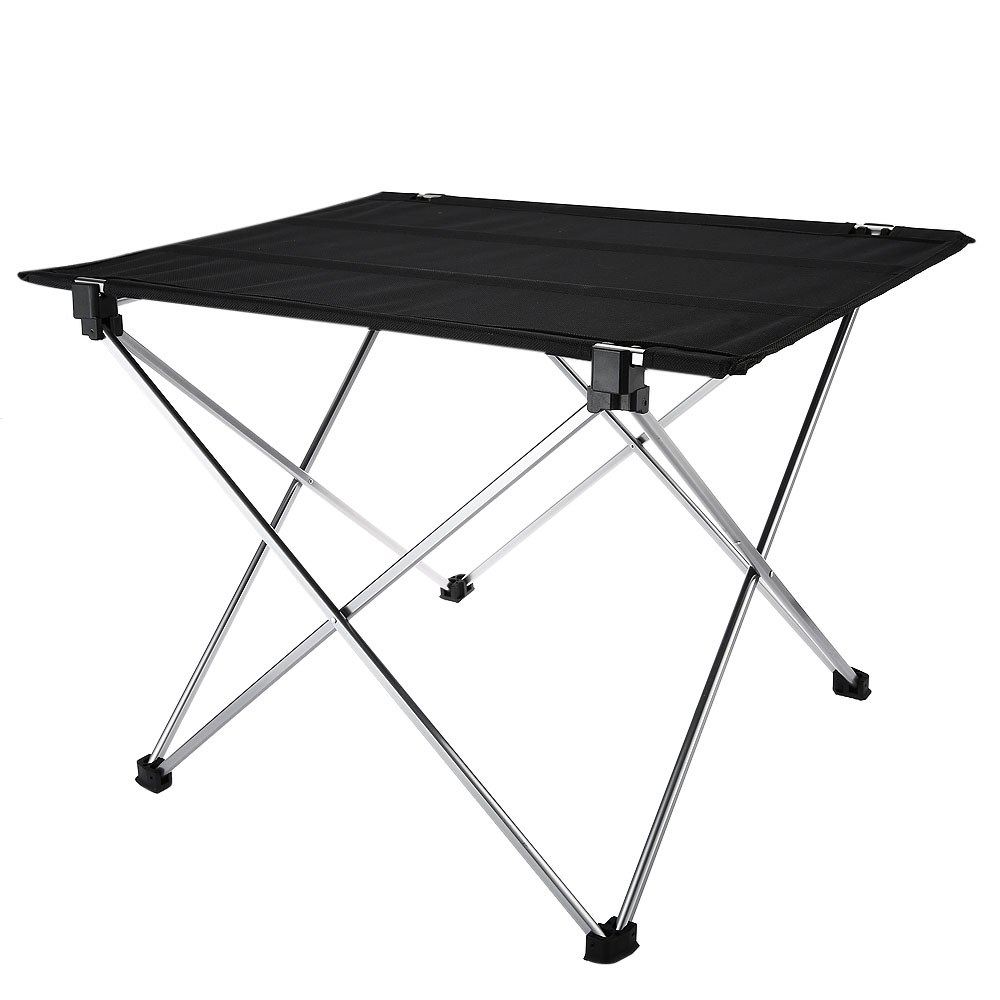 oxford fabric portable camping table outdoor aluminium alloy ultralight foldable table for. Black Bedroom Furniture Sets. Home Design Ideas