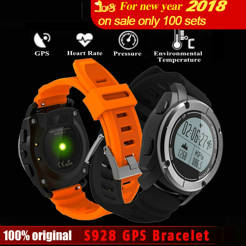 DoubleX S928 Sport Smart Watch G-sensor GPS Outdoor Heart Rate Monitor Smart Wristband for Smartwatch Android IOS цена