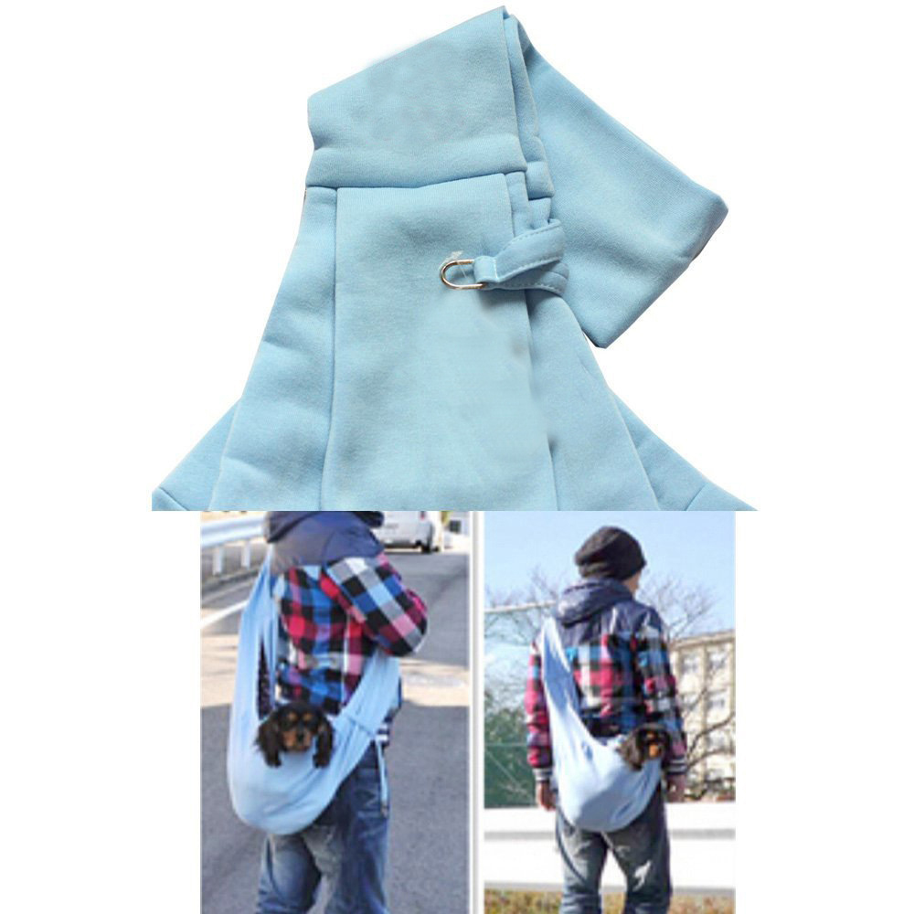 Pet Carrier Bag Small Dog Cat Bag Travel Tote Breathable Double sided Pouch Shoulder Carry Tote