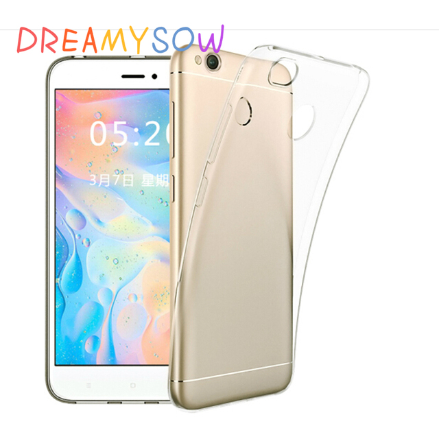 DREAMYSOW Ultra Thin Clear Soft TPU Case for Xiaomi Redmi 6 6A 5 3 3x 4 4A 4x pro note 7 6 5 Pro 4 4x 32GB 64GB Screen Protector