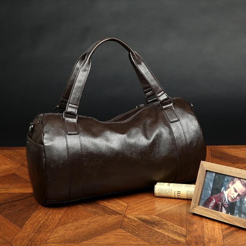 viagem de couro homens bolsa Modelo Número : Men Sport Bags
