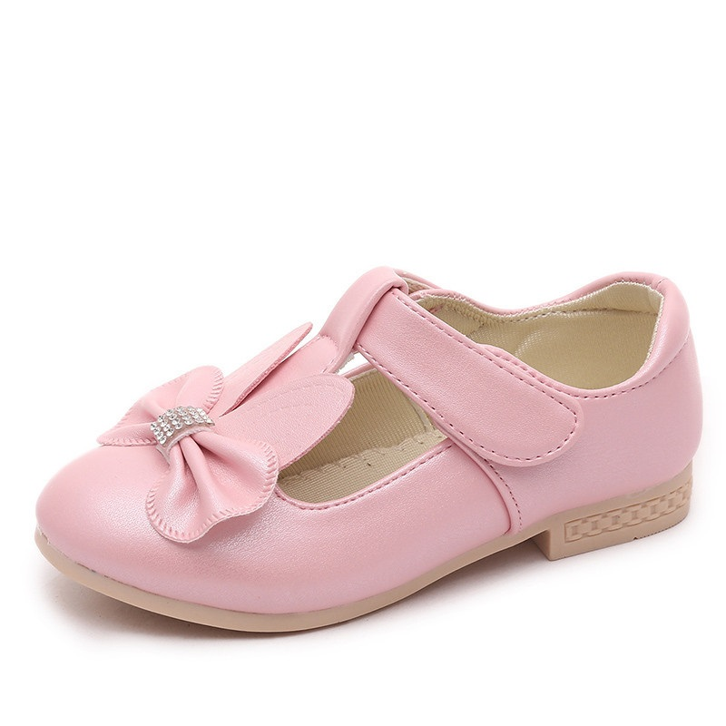 5a54bb784a6d COZULMA New Autumn Children s Footwear Princess Infant Girls Shoes cute  rabbit Children PU leather Shoes Girls Toddler Flats – Cybush