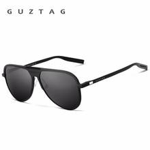 Мужские солнцезащитные очки в алюминиевой оправе GUZTAG, классические поляризационные зеркальные солнцезащитные очки UV400 для мужчин и женщин, G9828