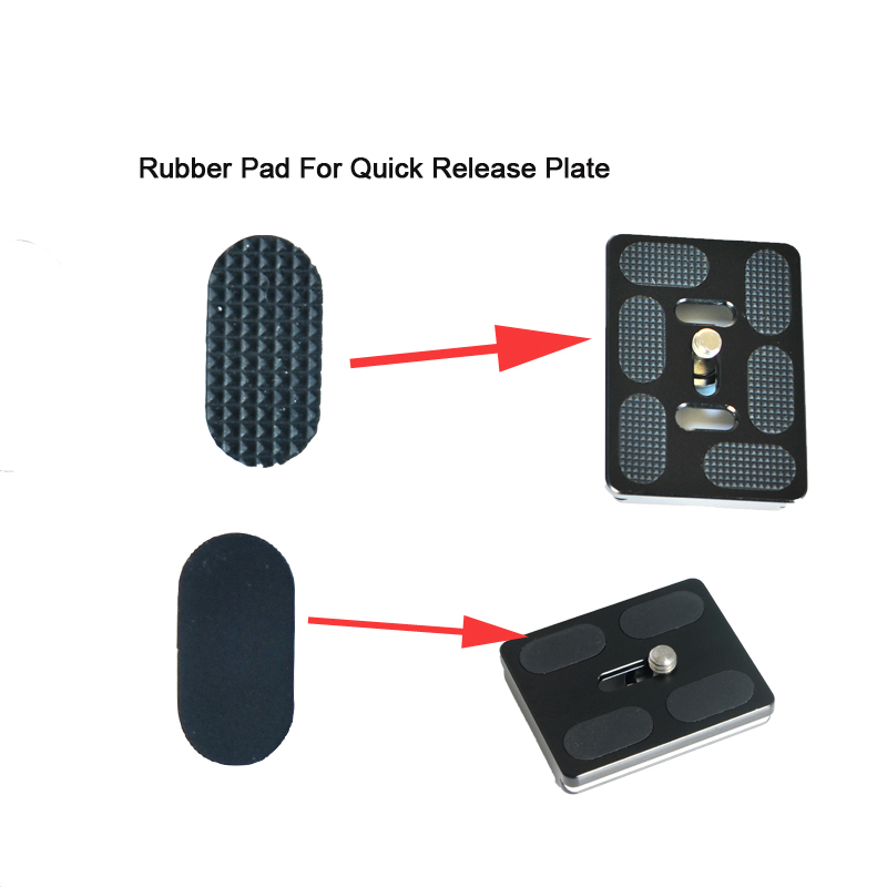 Good Sticky Ability Black Color Rubber Pad for Quick Release Plate 10pcs