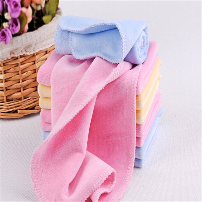 6pcs Lot Newborn Baby Towel Terry Handkerchief Towel Nursing Towel