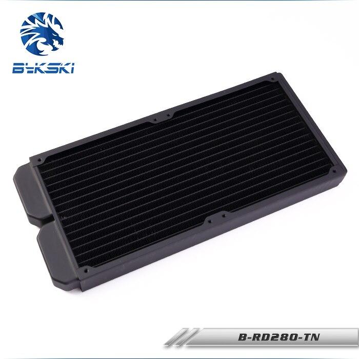 Bykski B-RD280-TN/28mm di spessore 280mm radiatore 14 cm fan watercooler dissipatori di calore