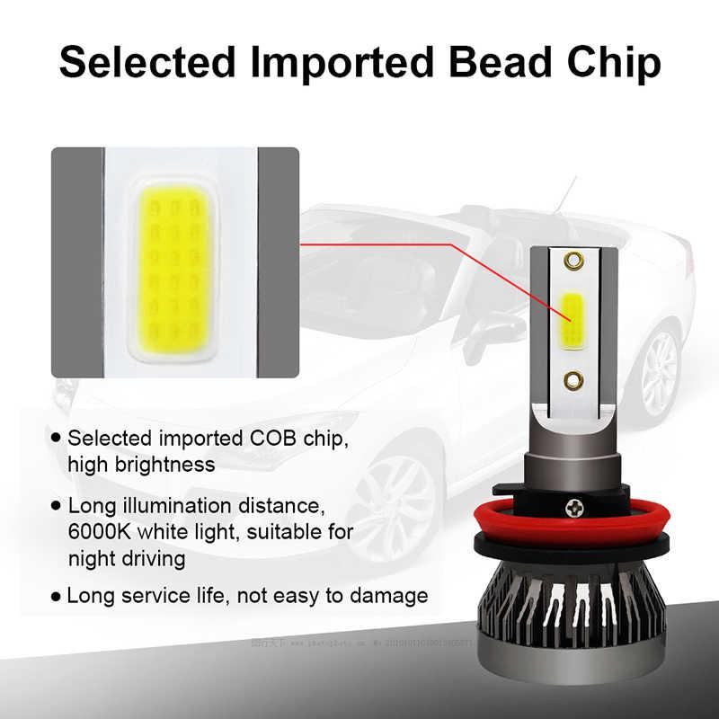 AVACOM 8000K 4300K H7 LED H4 LED Car Headlight Bulbs H1 H8 H9 H11 9005 HB3 9006 HB4 12V 8000LM Auto Headlamp LED 3000K 6500K 60W