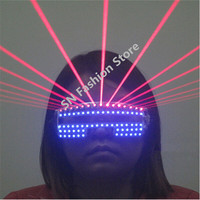T823 Bar Club Green Blue White Laser Led Light Party Glasess Laser Show Supply Ballroom Dancing