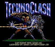 Techno Clash 16 bit MD Game Card For Sega Mega Drive For Genesis