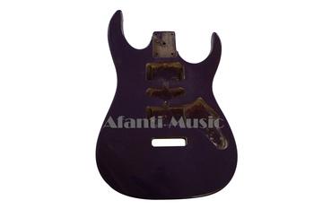 Afanti Music używany styl korpusu gitary elektrycznej (ADK-019) tanie i dobre opinie Gitara elektryczna ROSEWOOD Beginner Nauka w domu Blokowany klucz Pickup pasywny zamknięty LIPA Drewno z Brazylii