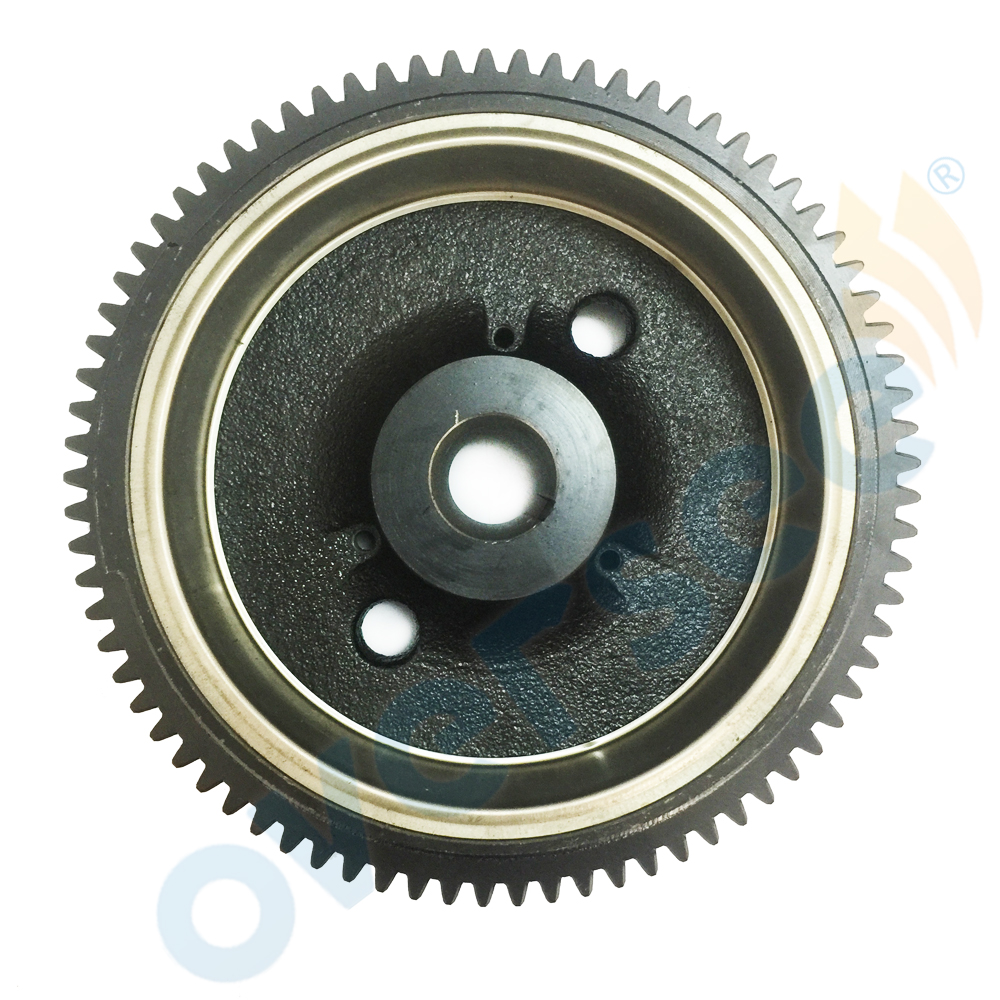 For Fitting Yamaha 4-stroke Outboard T8HLPA Flywheel ROTOR ASSY p.n. 68T-85550-11 1