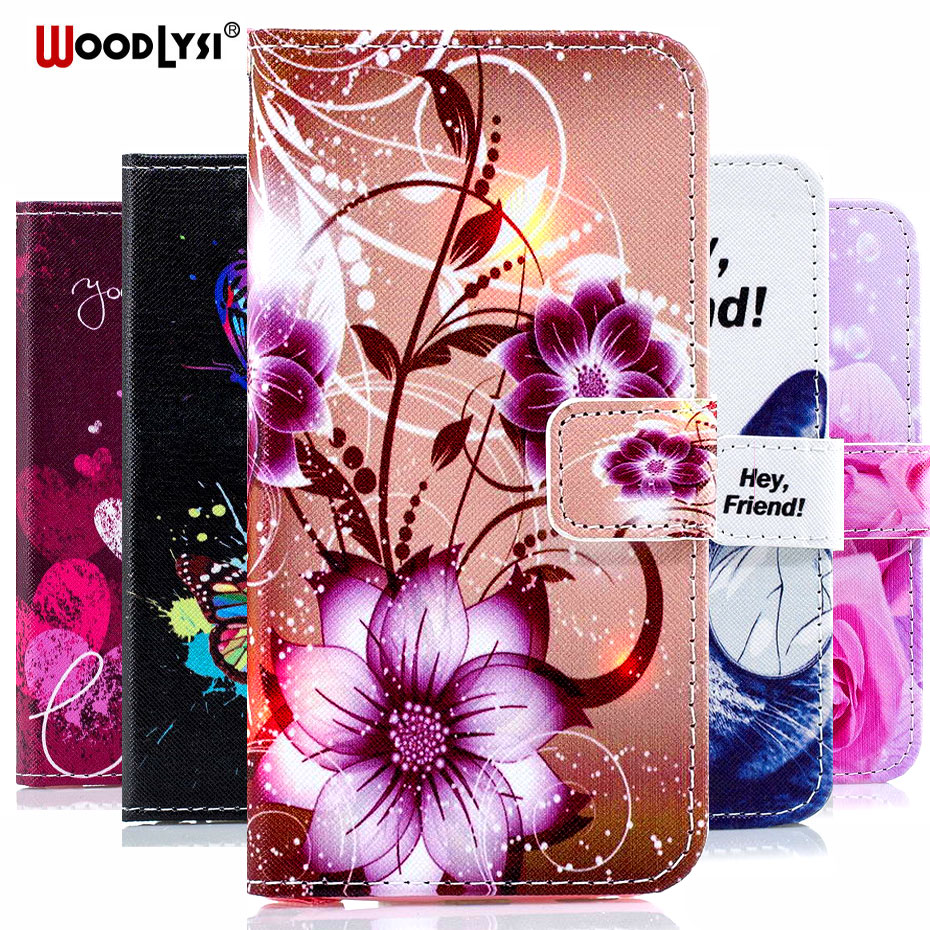 Luxury Wallet Leather <font><b>Flip</b></font> <font><b>Case</b></font> For <font><b>Samsung</b></font> Galaxy <font><b>A7</b></font> <font><b>2018</b></font> A750F A750 SM-A750F Dual SIM Cell Phone <font><b>Case</b></font> Painted Pattern Cover image