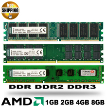 Brand New Sealed DDR DDR2 800 DDR3 1333 1600 MHz 2GB 4GB 8GB For Desktop PC DIMM Memory RAM Only compatible with AMD processor
