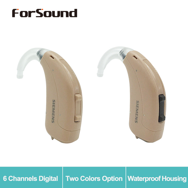 Germany Original Siemens Hearing Aid Fun P Upgrade of Touching Lotus 12P 13 Battery Two Colors Option