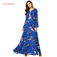 792adeba3c0d3 Blue Flower Dresses Promotion-Shop for Promotional Blue Flower ...
