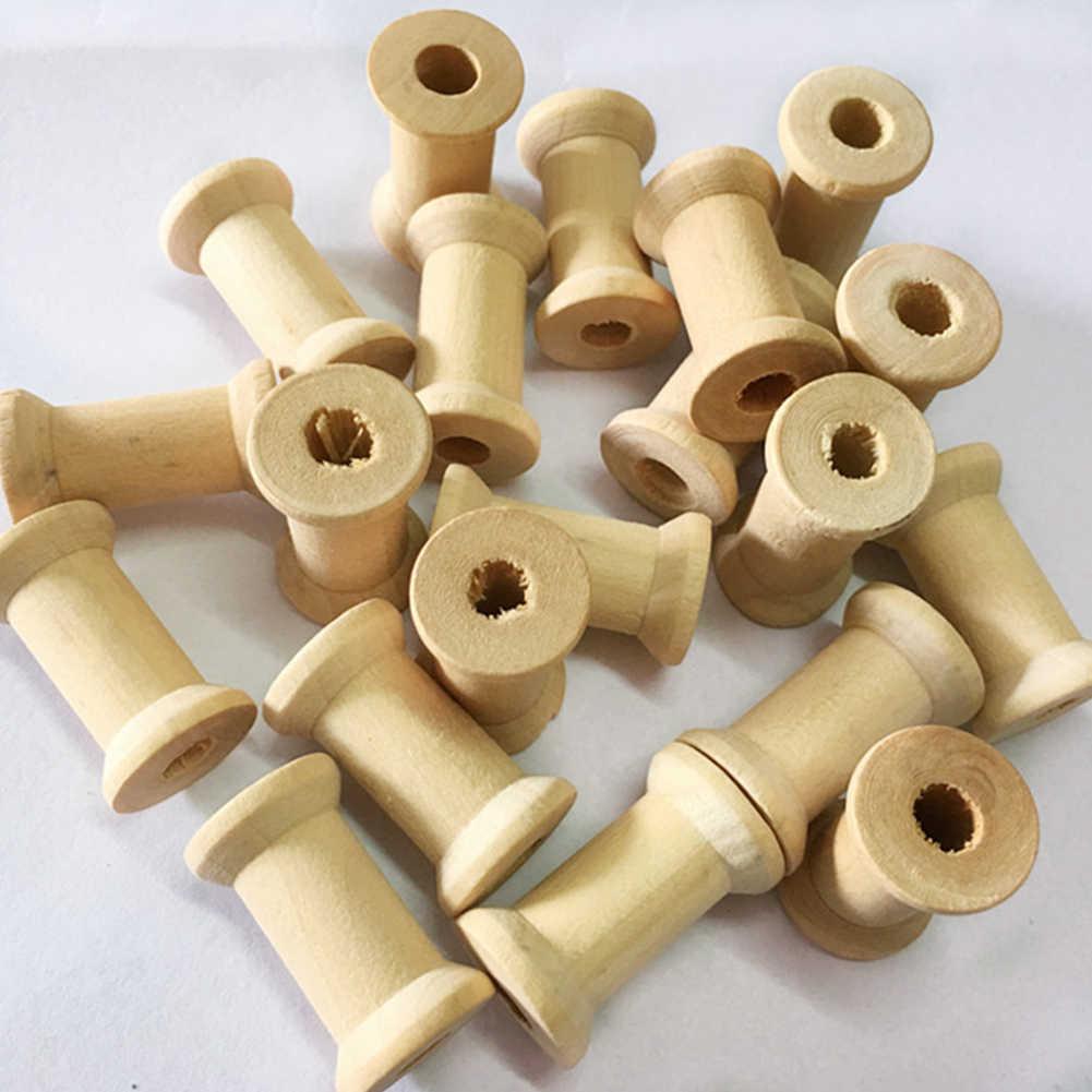 30 шт. бобины портативные мини Домашние катушки винтажные Швейные аксессуары