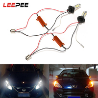 LEEPEE 2Pcs 1156 42 LEDs Car Turn Signal Light High Quality Car Styling 12V LED Car