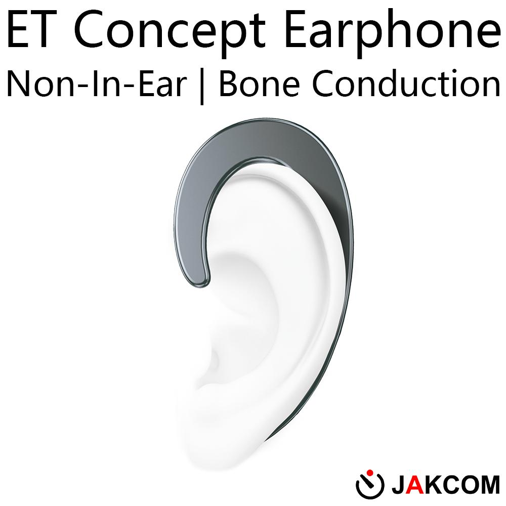 JAKCOM ET Non-In-Ear Concept Earphone Hot Sale in Fiber Optic Equipment as Connect Two Mobile Phones With Audio Sounds For Trip