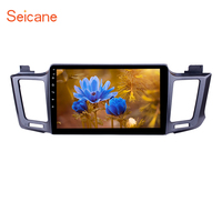 Seicane 10.1 inch Android 7.1/8.1 Car GPS Navi Stereo Player for 2013 Toyota RAV4 with Radio Bluetooth Music USB Mirror Link