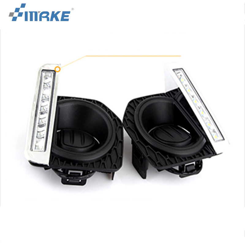 smRKE 2pcs For Land Rover Freelander 2 2012-2015 High quality Car styling New LED DRL Car-special LED Daytime Running Light