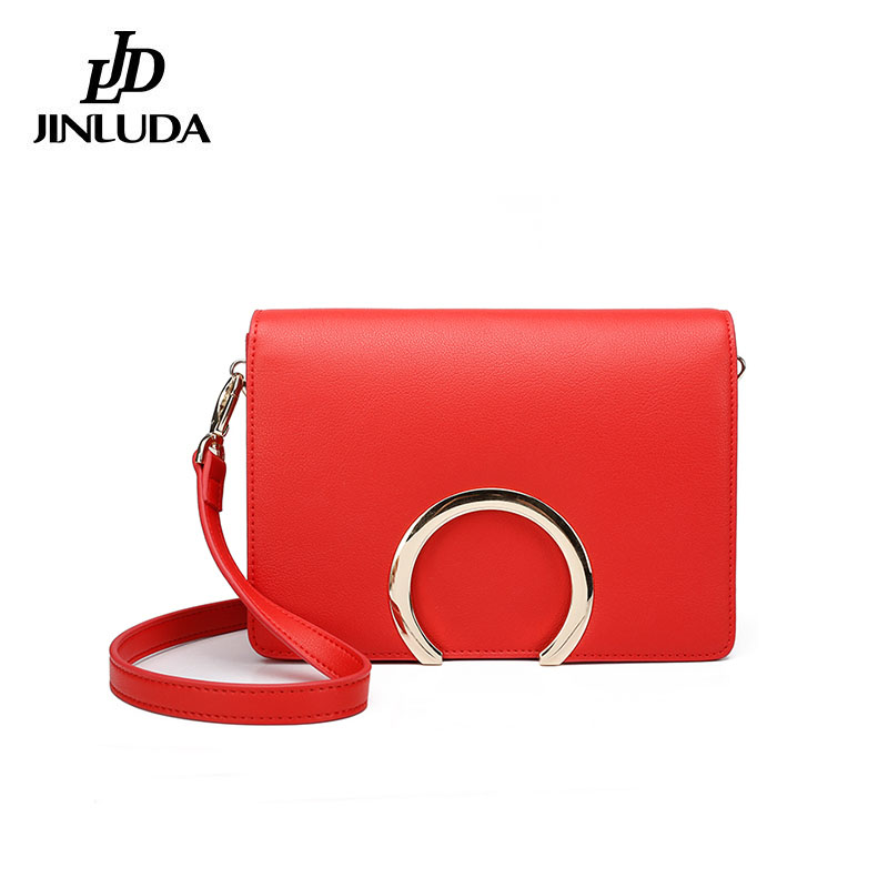 2018 Women Genuine Leather Crossbody Bags Mini Flap Bags Girls Solid Bolsas Feminina Fashion Geometric Lock Handbag Casual Bag men wallet male cowhide genuine leather purse money clutch card holder coin short crazy horse photo fashion 2017 male wallets