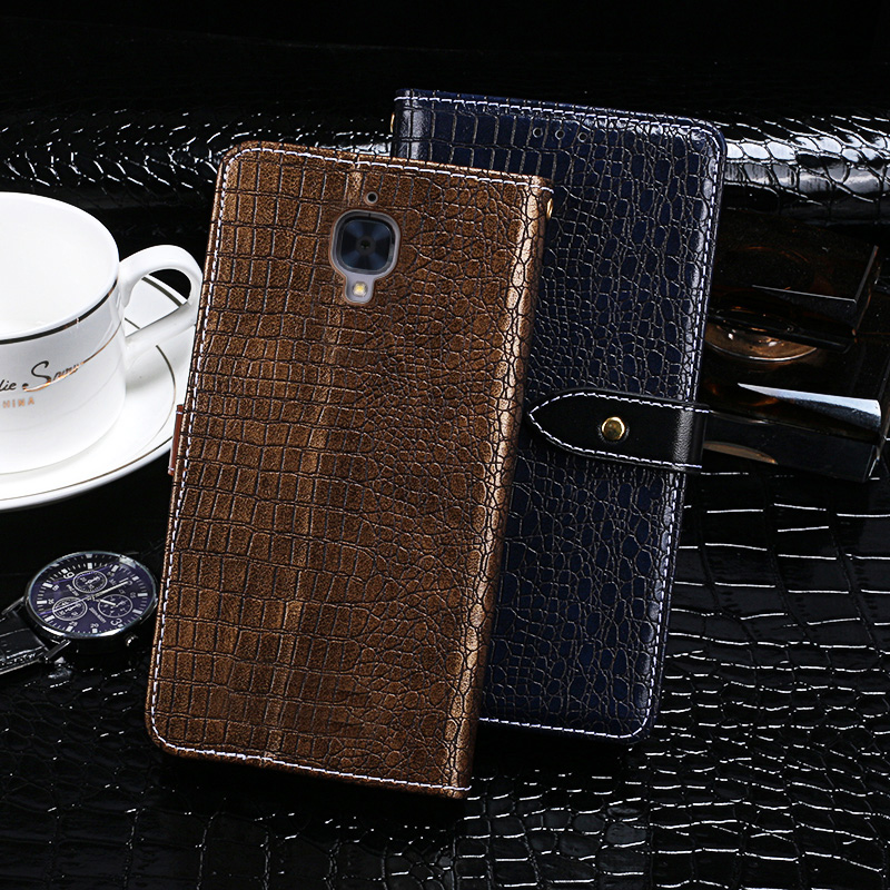 Itgoogo For <font><b>Oneplus</b></font> 3 Case <font><b>Cover</b></font> Luxury Leather <font><b>Flip</b></font> Case For <font><b>Oneplus</b></font> 3 Protective Phone Case Back <font><b>Cover</b></font> image