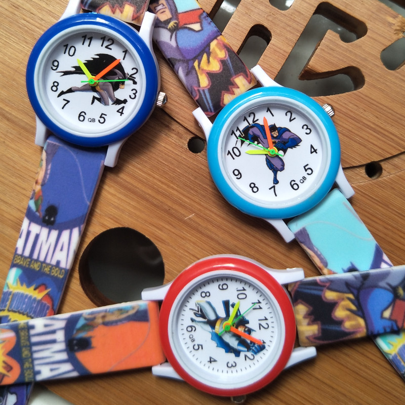 2020 Newest Printed Strap Cartoon Time Toys Children Watch Kids Watches For Boys Girls Gift Casual Fashion Bracelet Clock