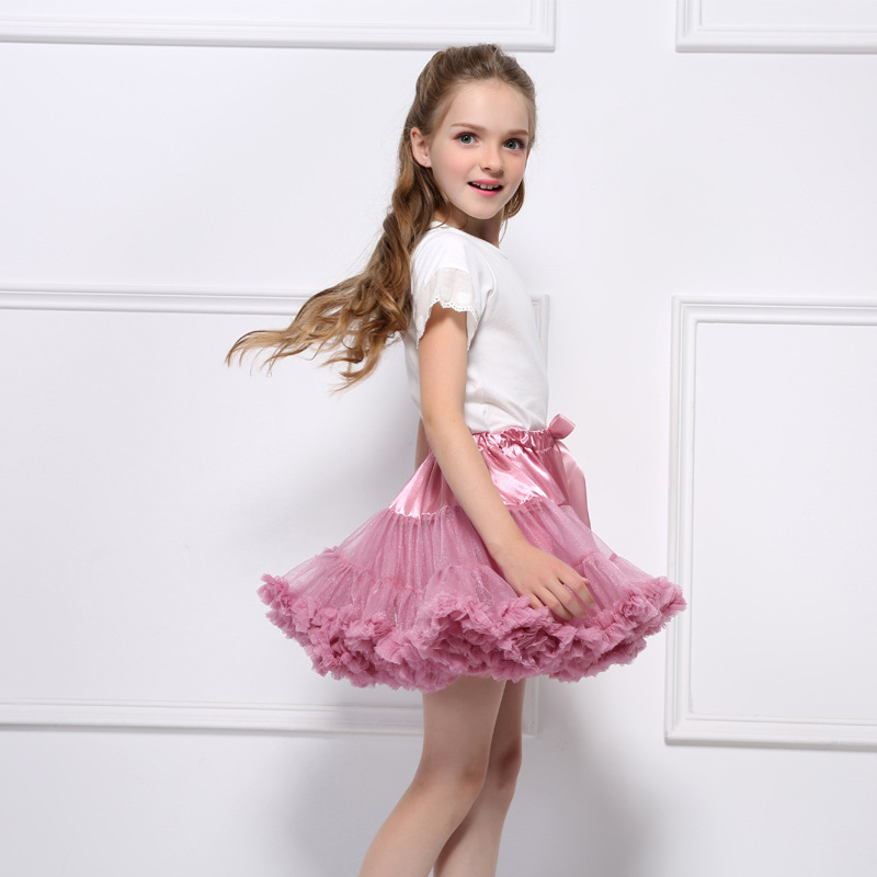 Chaffare meisjes rok baby tutu pluizige rokken kinderen fancy - Kinderkleding - Foto 3