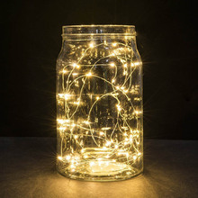 2m 20leds Copper Wire Lights String Lights For Christmas Light Festival Wedding Party Or Home Decoration
