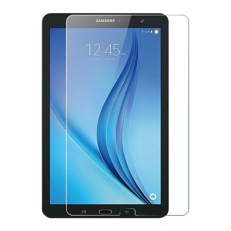 iBuyiWin 9H Tempered Glass Screen Protector for Samsung Galaxy Tab E 9.6 T560 T561 SM-T560 SM-T561 Scratch Resistant Glass Film nb t560 15
