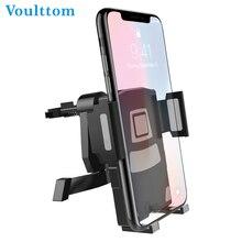 ФОТО voulttom classical car bracket air vent car phone holder one-hand 360 degree adjustable flexible air vent mount holder
