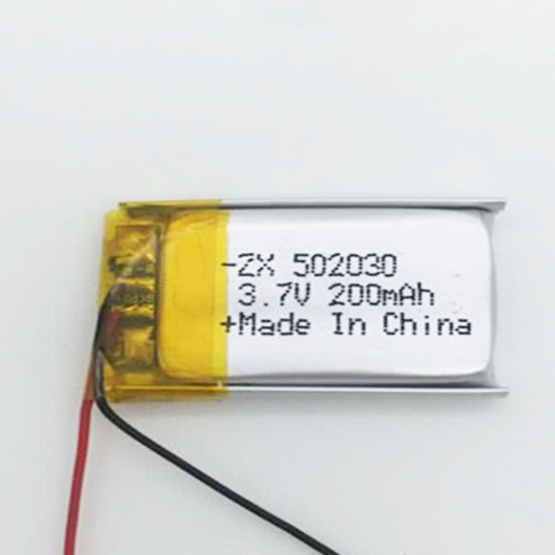 5-10PCS 502030 3.7V rechargeable lithium polymer battery 200mAh lipo cell for RC Remote control helicopter car boat toys