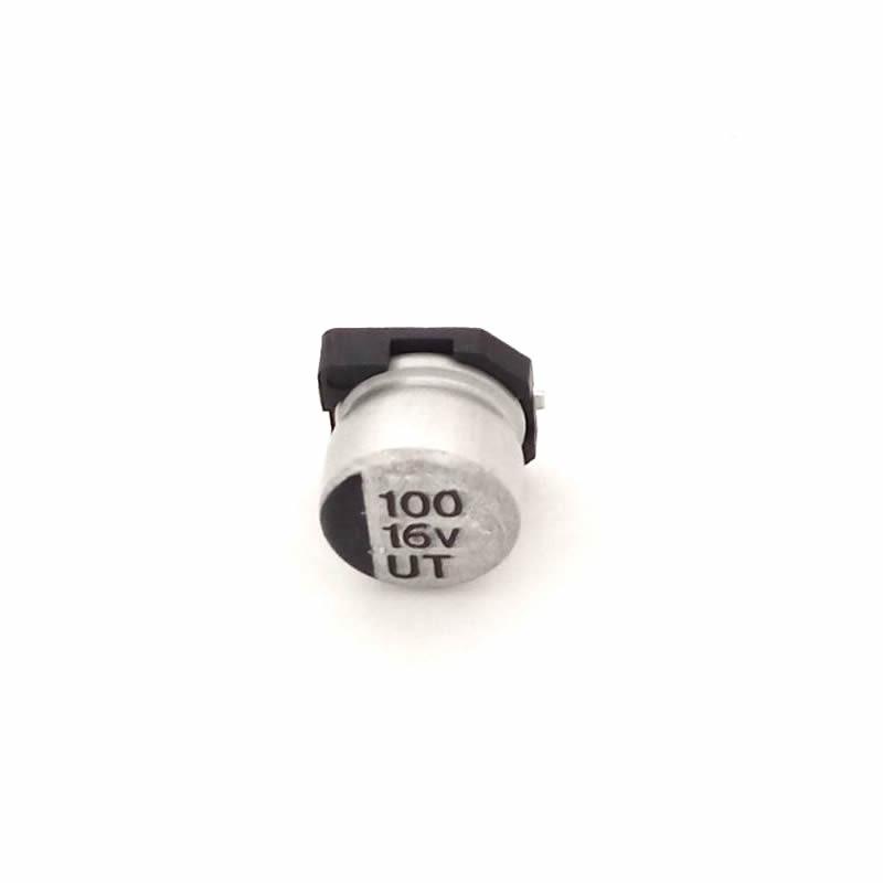 MCIGICM 1000pcs 100UF 16V 6.3mm*5.4mm SMD electrolytic capacitor