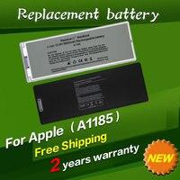 JIGU 화이트 노트북 배터리 애플 MA566 A1185 MA566FE/MA566G/MA566J/맥북 13
