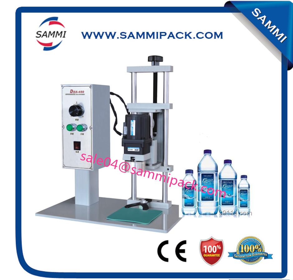 Высокое качество DDX 450 desktop пластиковые бутылки колпачок машины для крышки diamater 10 50 мм