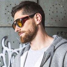 YDO Vintage Steampunk Sunglasses Men Luxury Brand Round 2019 Fashion Sun Glasses New Punk Shades Leather Shields