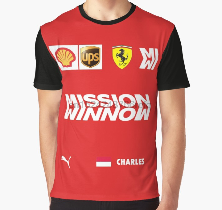 All Over Print 3D Tshirt Men Funny T Shirt Combination Of Charles Leclerc Graphic T Shirt