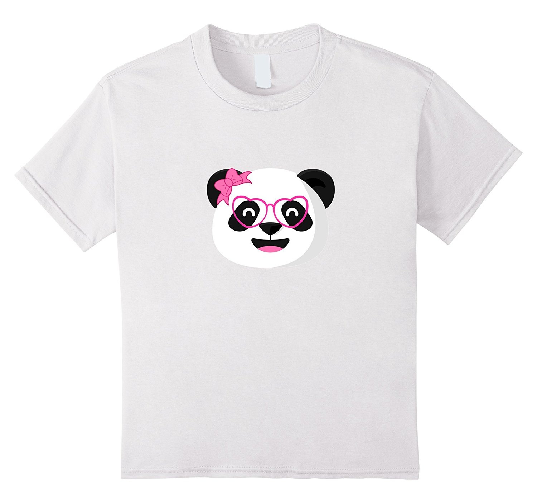 Gildan Panda Girl Bow T Shirt Cute Funny Animal Designs Kawaii Female Casual T-Shirts Women Tops Tees Designer Women'S T Shirt