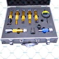 Erikc calços elevador medida instrumento e1024007 trilho comum injector de combustível bocal arruela juntas espaço ferramentas teste conjuntos|Injetor de combustível| |  -