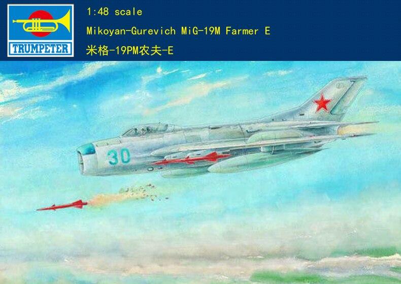 Trumpeter 1/48 02804 Mikoyan-Gurevich MiG-19M Farmer E