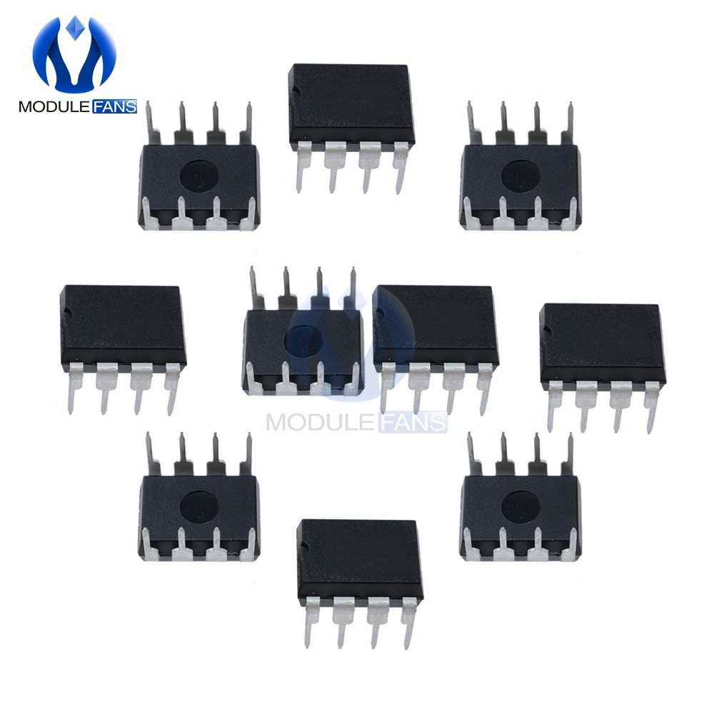 10 piezas NE555 NE555P NE555N 555 temporizadores DIP 8 BIPOLAR temporizadores IC Chip 8 PIN 8 P 8PIN