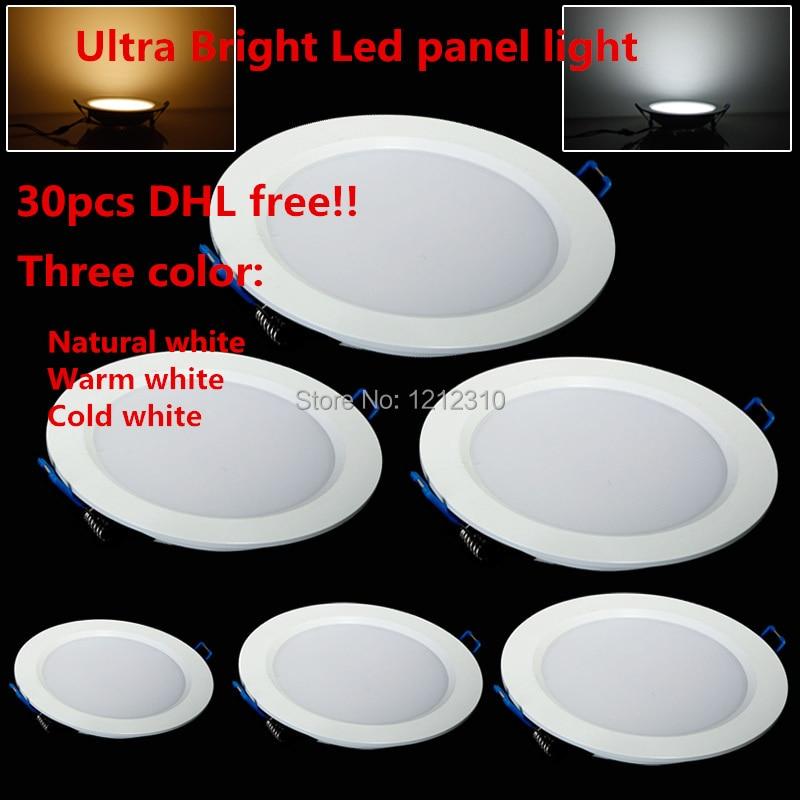 Ļoti plāns 3W / 4W / 6W / 9W / 12W / 15W / 25W LED panelis Gaismas - Iekštelpu apgaismojums