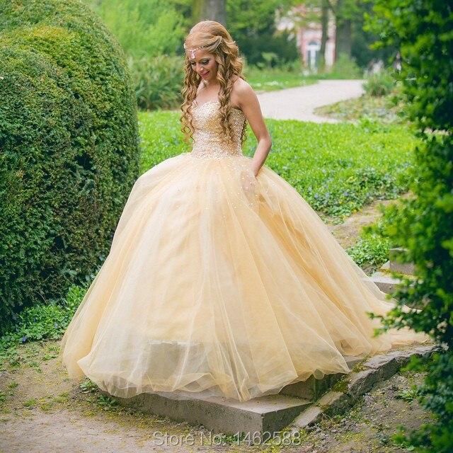 Stunning Pearl Beaded Sweetheart Bodice Corset Yellow Organza And ...