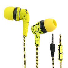 Stereo Sport Earphones with Microphone Noise Cancelling Earbuds In Ear Headset 3.5mm Wired Earphone MP3 Music Player Ear Phones