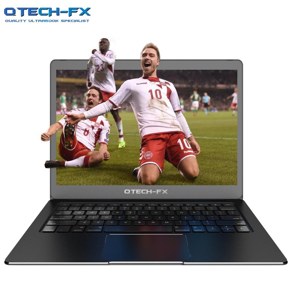 "14 ""Laptop Metal 8GB RAM SSD 512GB 256GB 128G CPU Intel Janelas Negócio Francês Árabe espanhol Russo Teclado Retroiluminado Prata"