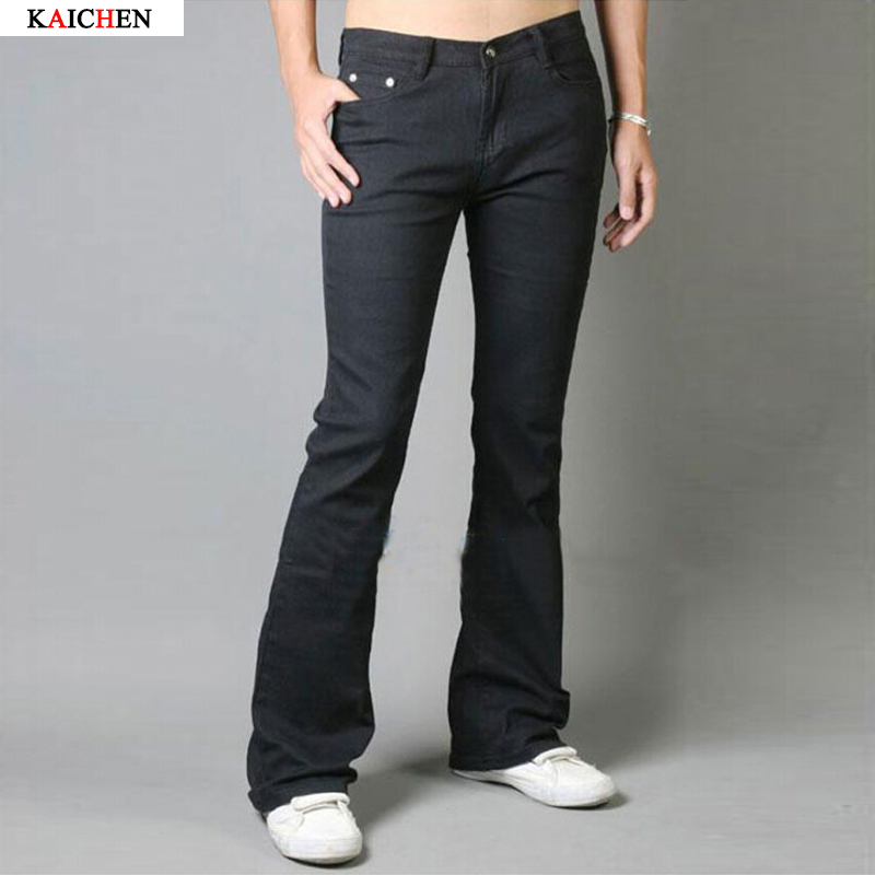 Popular Black Boot Cut Jeans for Men-Buy Cheap Black Boot Cut
