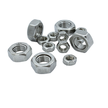 Free Shipping M2/M2.5/M3/M4/M5/M6/M8/M10/M12 304 Stainless Steel Hex Nut DIN934