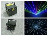 RGB 2W Laser Animation Stage Show 2000mw light dj party disco club concert wedding projection system lazer lighting equipment dj